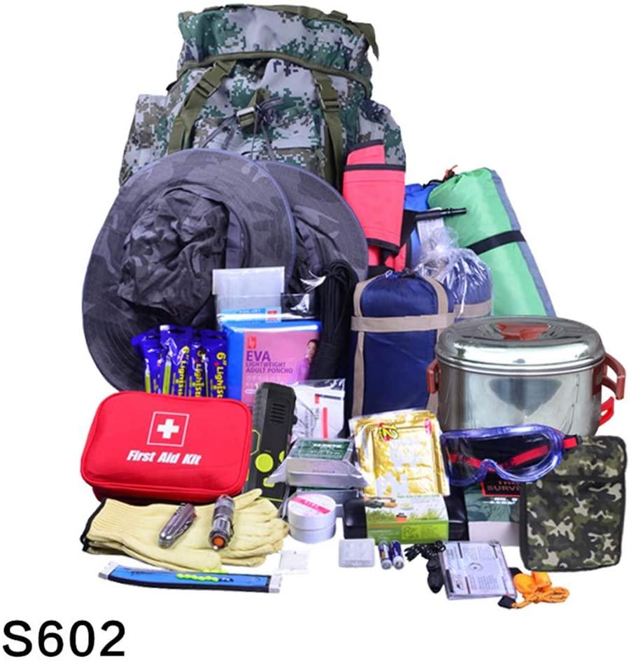 Kit de supervivencia Militar. Bolsa Completa